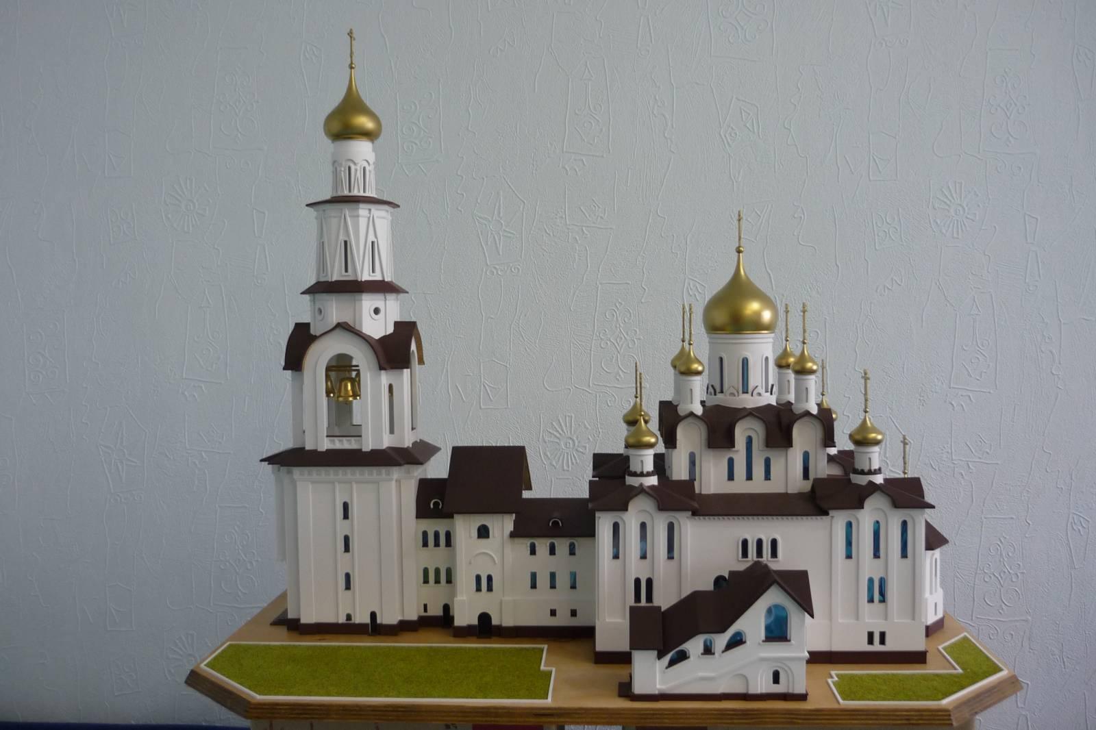 Сделать макет храма своими руками из бумаги 82